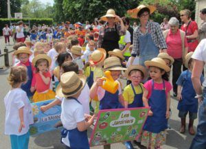 Kermesse - Défilé des enfants